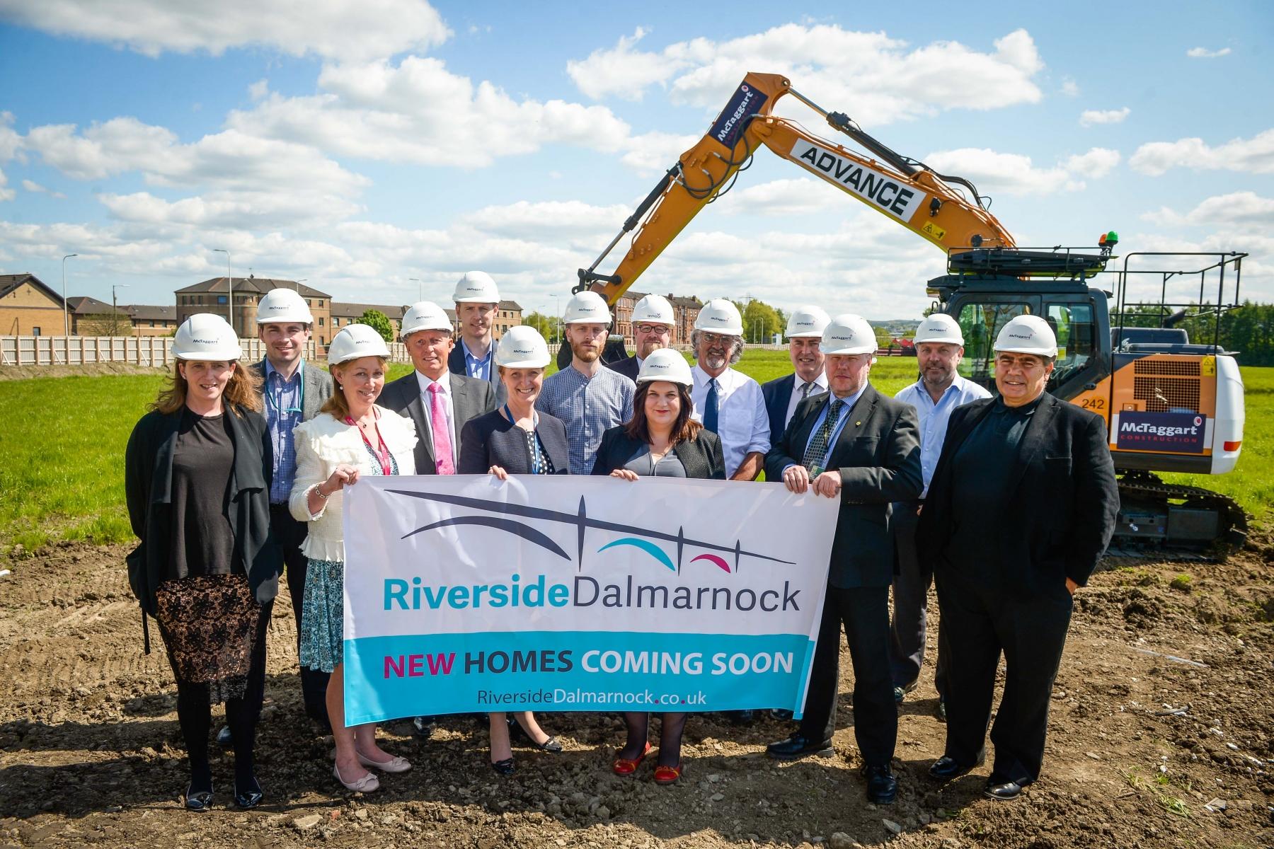 562 New Homes in Dalmarnock