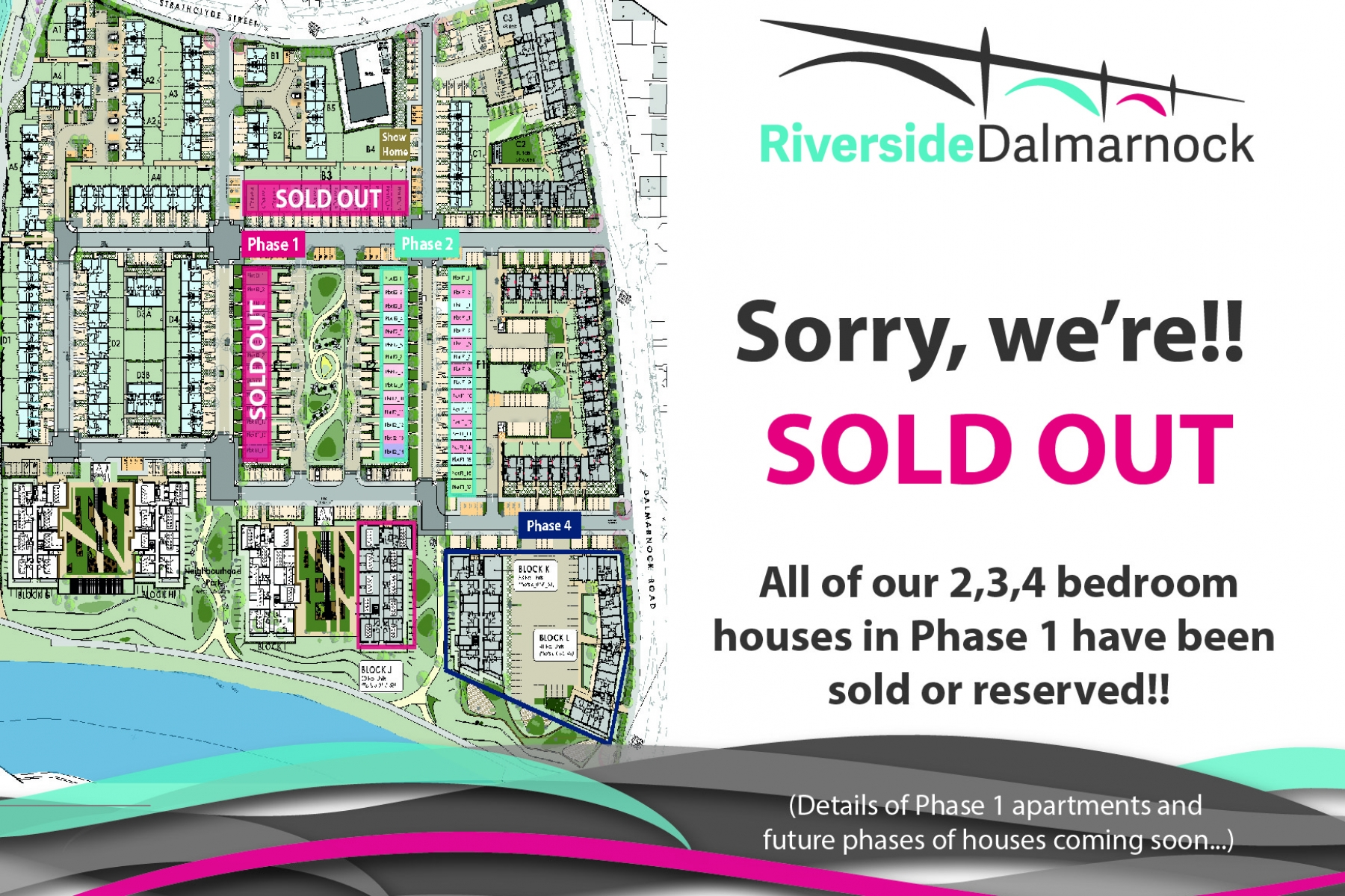 Phase 1 Homes Sold Out