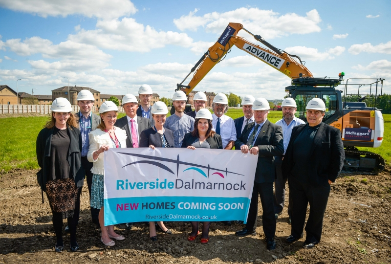 562 New Homes in Dalmarnock